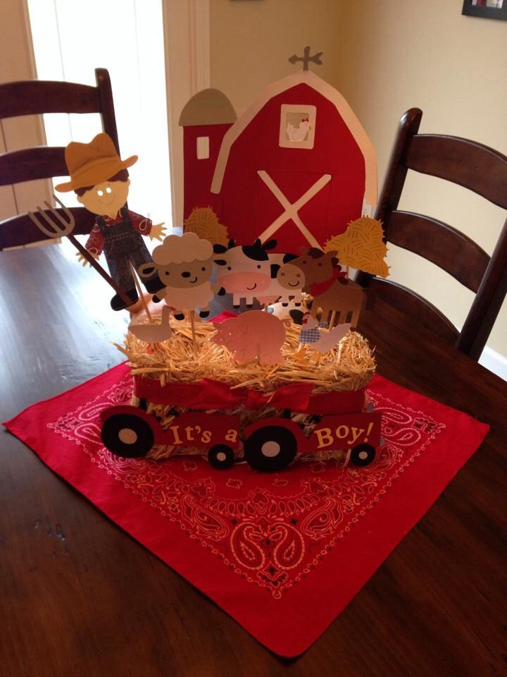 36 Best Images About Farm Themed Baby Shower Ideas On