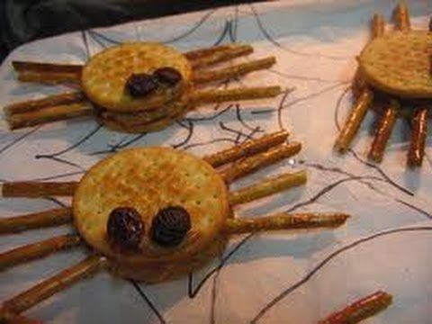 Spider Cooking Project | Cullen's Abc's  http://online-preschool.cullensabcs.com/preschool-days/doctors-nurses-day-3/