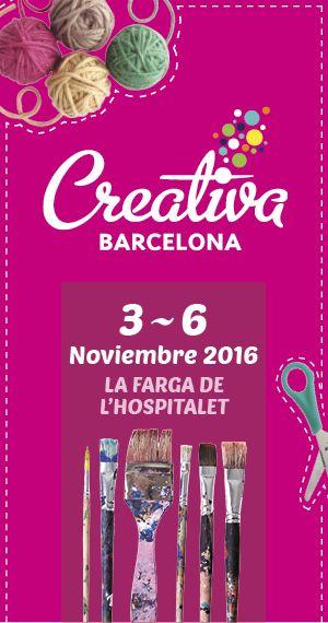 en mi blog os esplico todo sobre la proxima feria de Creativa en Barcelona