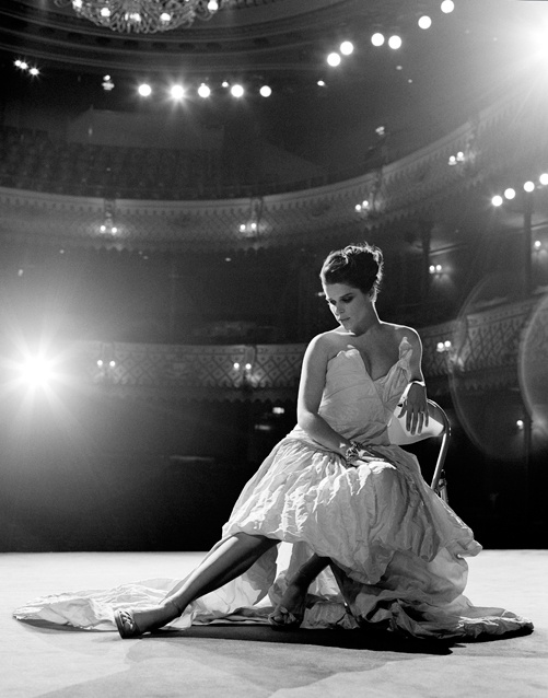 My personal challenge, recreate this at Hawaii Theater.   Neve Campbell by photographer Matt Holyoak