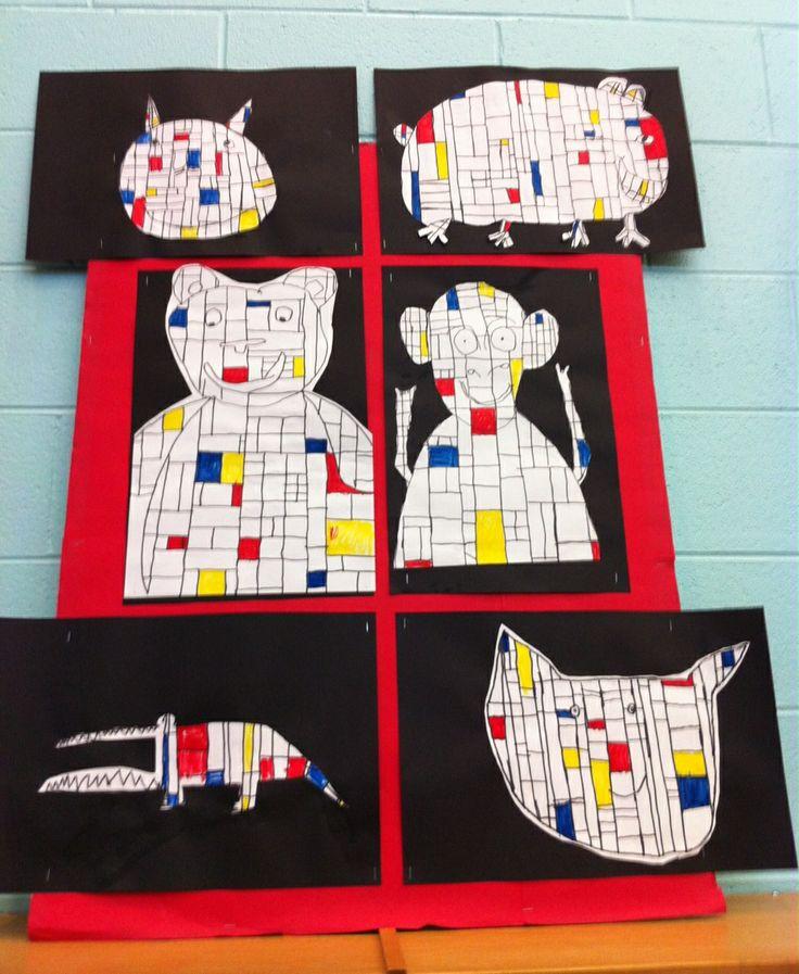 Apex Elementary Art: February 2012