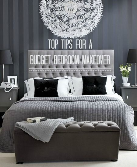Decorate your Bedroom for Under £300 in a Weekend