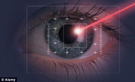 laser eye surgery....if only...to see!!