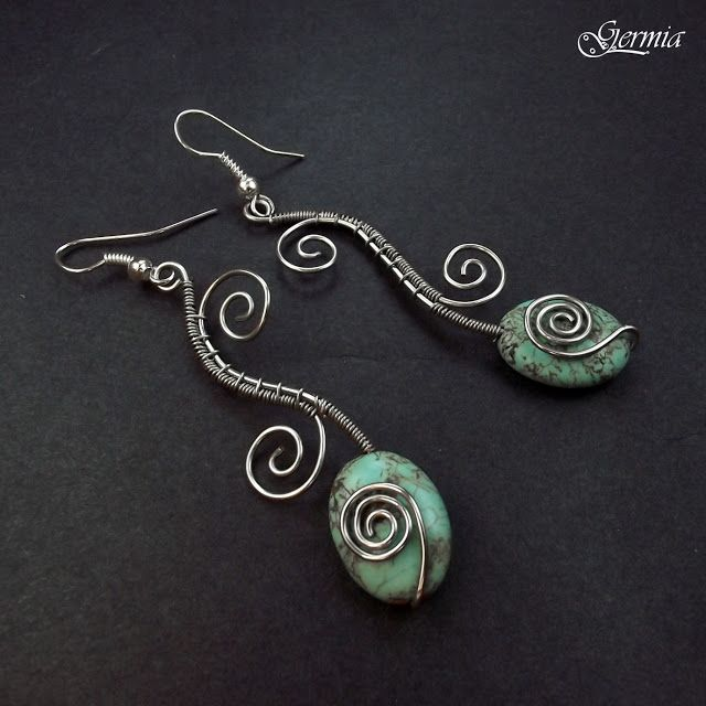460 best wire wrapping ideas images on pinterest necklaces wire rh pinterest com jewelry making earrings ideas Wire Wrapping Jewelry Supplies