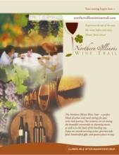 A great place to start planning your wine trail trip! Map of wineries in Northern Illinois.