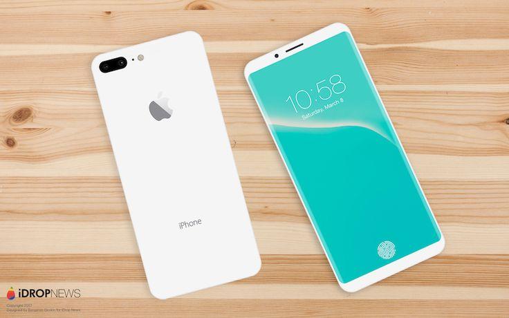 iPhone 8 Concept, o imagine mai realistă bazată pe toate zvonurile