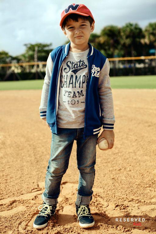 Reserved Kids SS16 #baseball#game#bomber#jacket#summer#wear