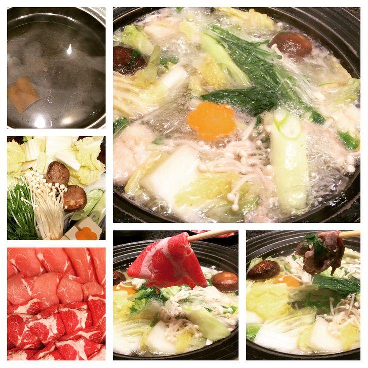 Así es el plato shabu shabu de nuestro menú degustación en #Hanakura. ¿Lo has probado?