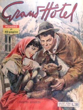 L'Orsetto sperduto, copertina di Walter Molino