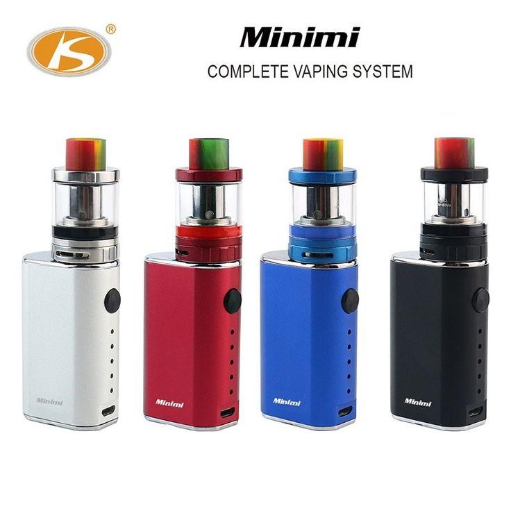 Fashion KS best electronic cigarette 10-50w box mod e vape starter kit with eletronic variable battery vapor electric mods