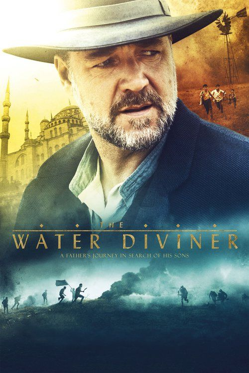 "Russell Crowe's directorial debut, ""The Water Diviner,"" is an epic and inspiring tale of one man's life-changing journey of discovery. Crowe plays Australian farmer Joshua Connor, who, in 1919, goes in search of his three missing sons, last kno..."