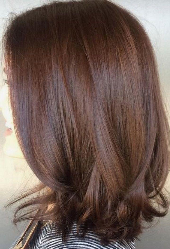 mocha brown hair ideas