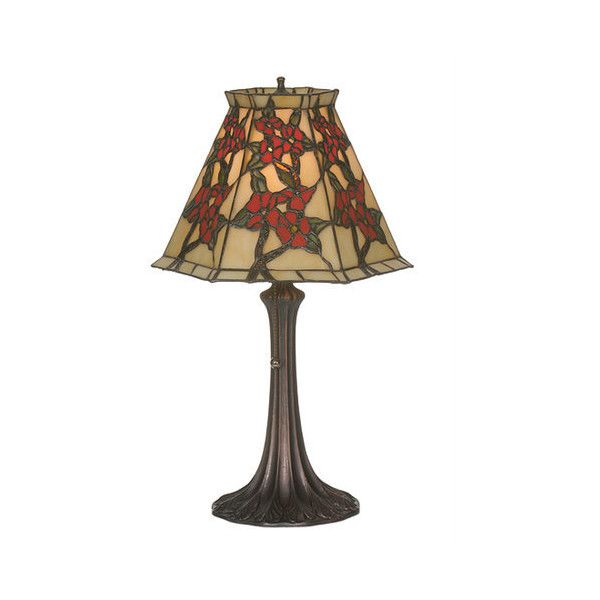 Meyda Tiffany 81620 Asian Single Light Up Lighting Table Lamp from the ($380) ❤ liked on Polyvore featuring home, lighting, table lamps, lamps, mahogany bronze, asian inspired lamps, oriental lamps, glass shade lamp, oriental style lamps and asian lighting