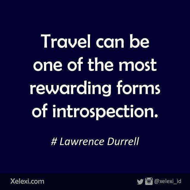 Reward yourself by traveling... #travel #travelquotes #introspection #motivation…