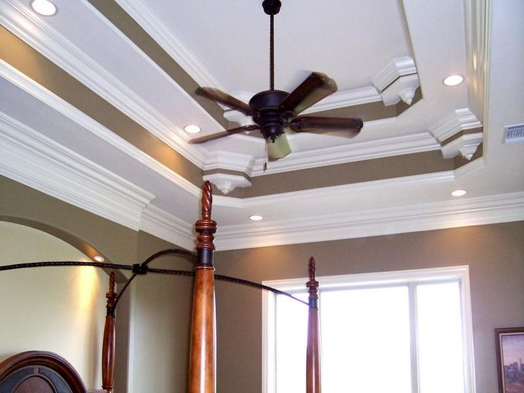 79 best tray ceiling dining room images on pinterest for Tray ceiling trim ideas