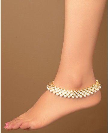 Payal (Anklet)...checkout vendors at www.myweddingbazaar.com