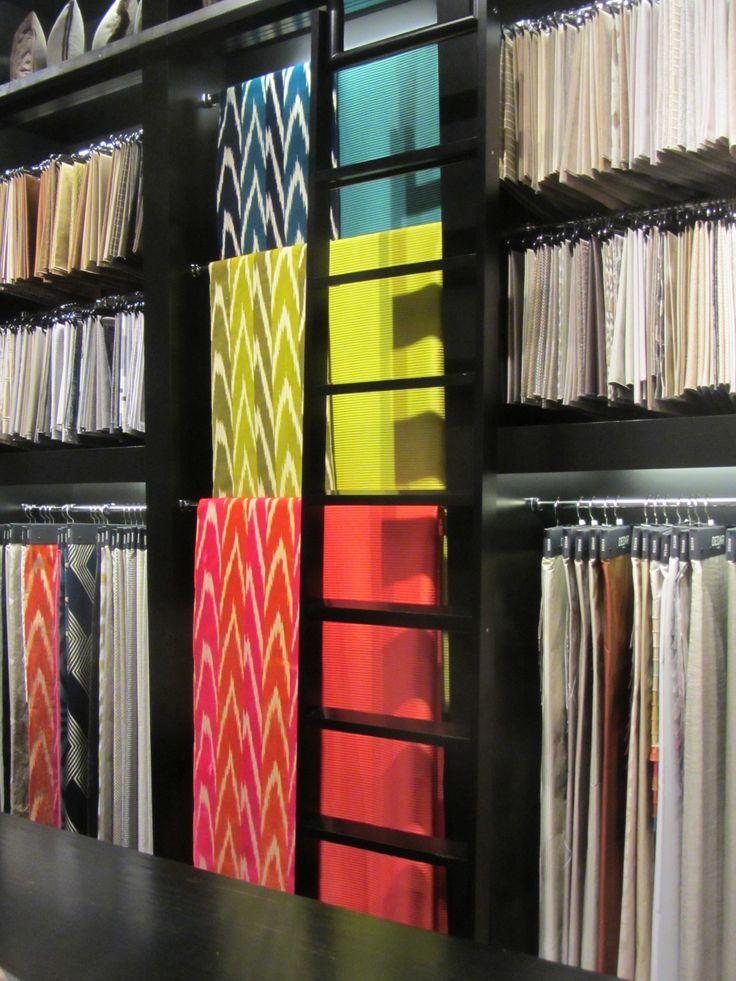 Colours at Dedar London Showroom #dedarmilano #colours #design #showroom