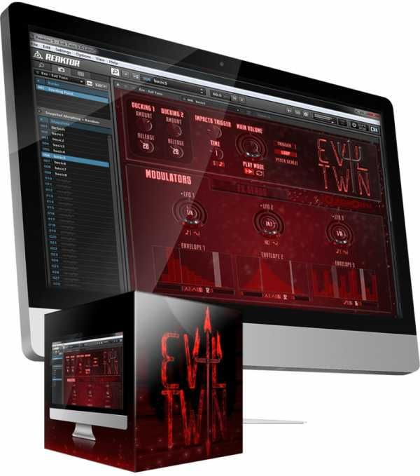 Evil Twin For Ni REAKTOR, reaktor presets-patches, Twin, Sound Design, Reaktor, Fantastic, Evil, Cinematic