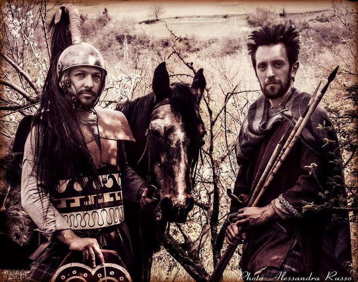 celtic horseman and infantryman 3rd century b.C