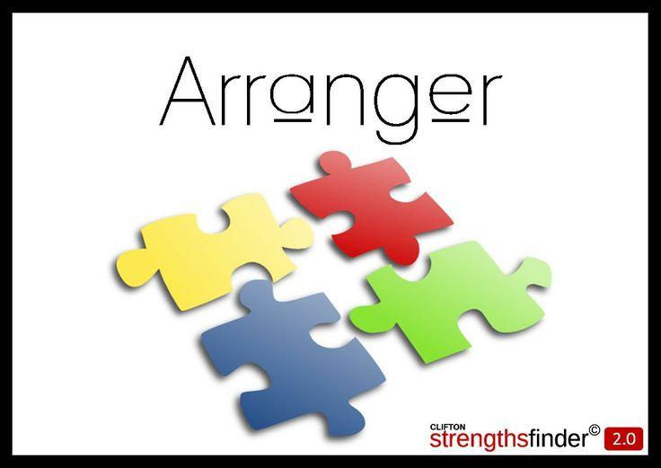 Arranger - StrengthsFinder | Arranger - StrengthsFinder | Pinterest