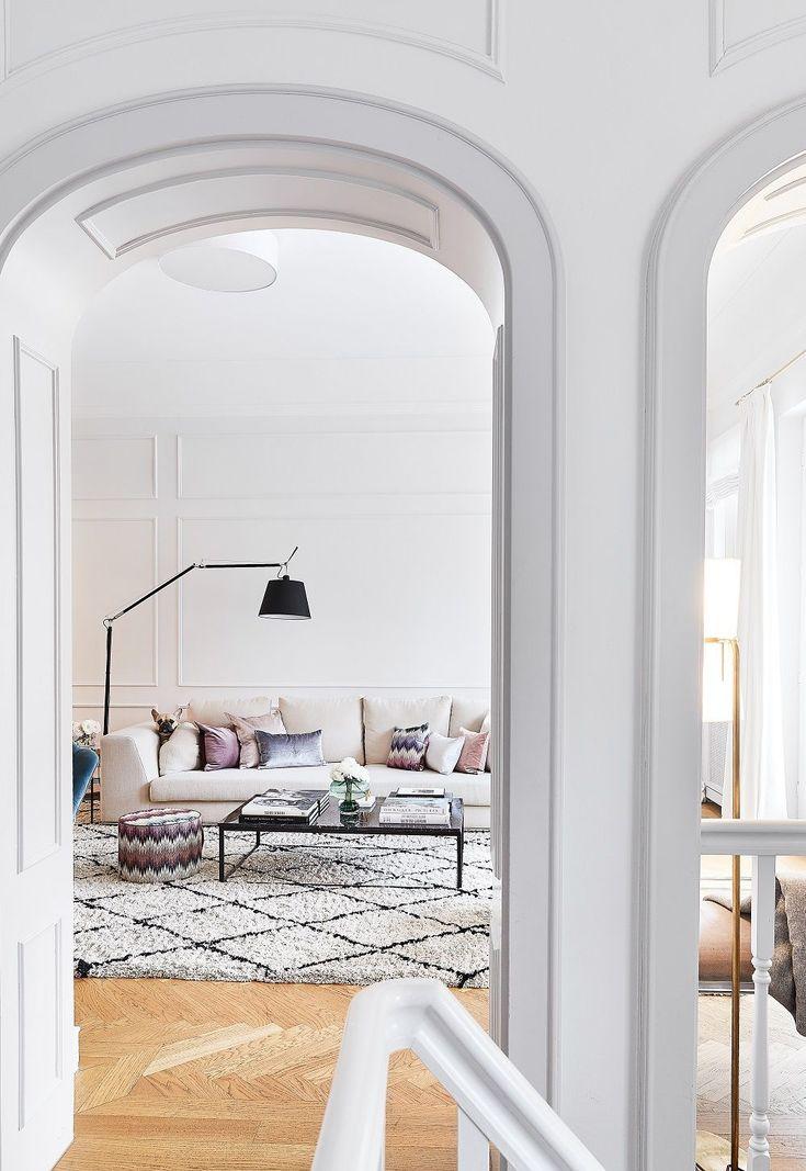 Handgetufteter Teppich Naima | Wohnzimmer ideen, Teppich ...