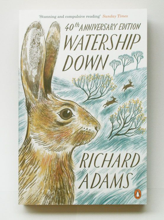 Watership Down, illustration by Emily Sutton.   Available October 2012 - one of my very most favorite books!  Filled with excellent allusions to other classic literature and serving as an interesting twist to the typical hero's journey, Watership Down is a book that has remained one of my favorites since I was about 12 - and has only improved with age :)