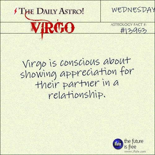 Daily Astro: Virgo Your horoscope for today is waiting for you, Virgo. Visit iFate.com today!