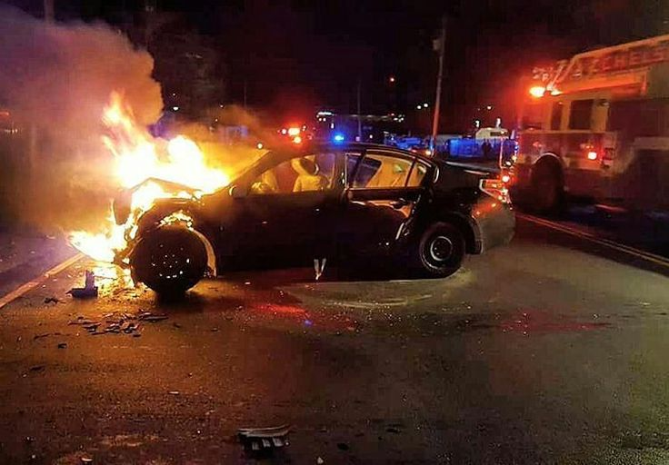 """FEATURED POST  @markchera -  E2 & L2 had a car into a bus this morning. Nobody was killed. ChelseaFire Boston By #PaulKoolloian . The best lesson I ever got about car fires was from my first captain a salty old ghetto fireman type. And the lesson was: cool your jets. It's just a car. Stay back and use the stream. There's usually no reason to be """"aggressive"""" and run up into some of the worst kind of smoke you'll face in your career for no particular reason.  . . . . . TAG A FRIEND…"""