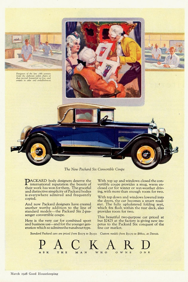On March 20, 1928, James Ward Packard died. His eponymous company, however, lived on.