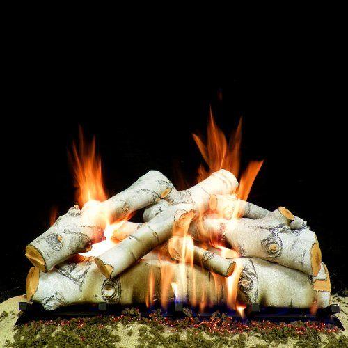 Best Gas Fireplace Logs - Birch                                                                                                                                                                                 More