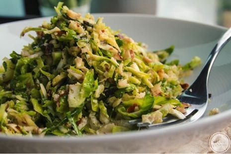 Shaved Brussels Sprout Salad and other tastier ways to prepare brussells sprouts