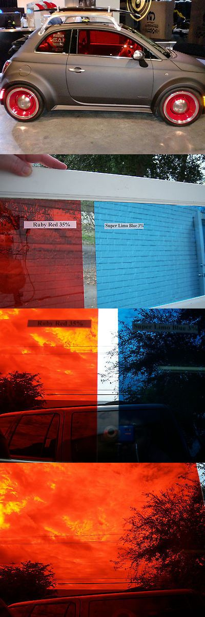 Window Film 175757: Colored Window Tintfilm Hot Rat Rod Gasser Ruby Redbluearmy Green Show Car -> BUY IT NOW ONLY: $35 on eBay!