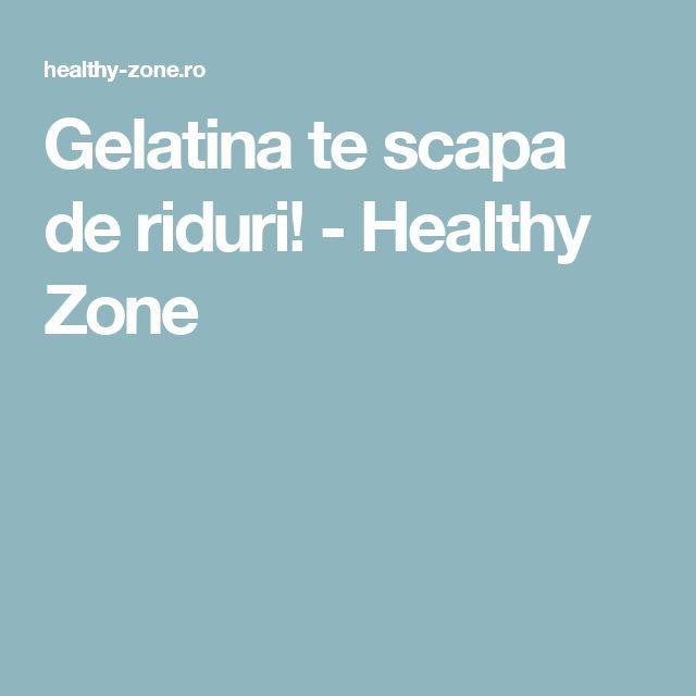 Gelatina te scapa de riduri! - Healthy Zone