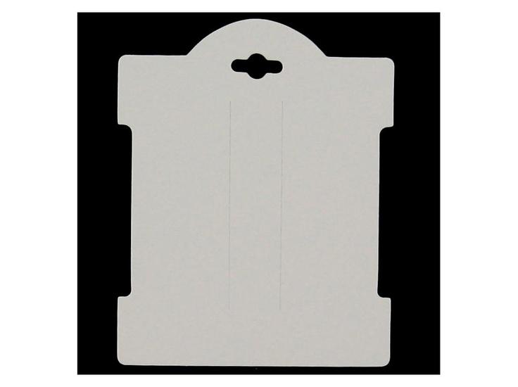 White Hair Bow Display Cards @ hobby lobby