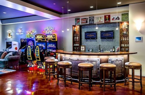 Cool Video Game Rooms | Guest Blogger: Decking Out your Man Cave/Game Room | Home Staging ...