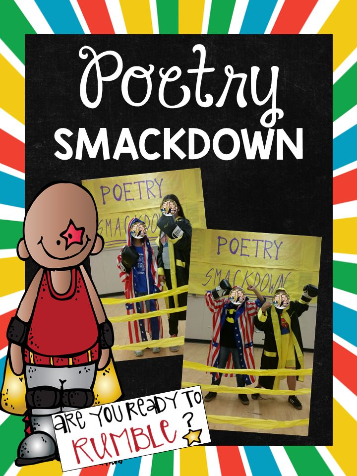 Poetry Smackdown Fun