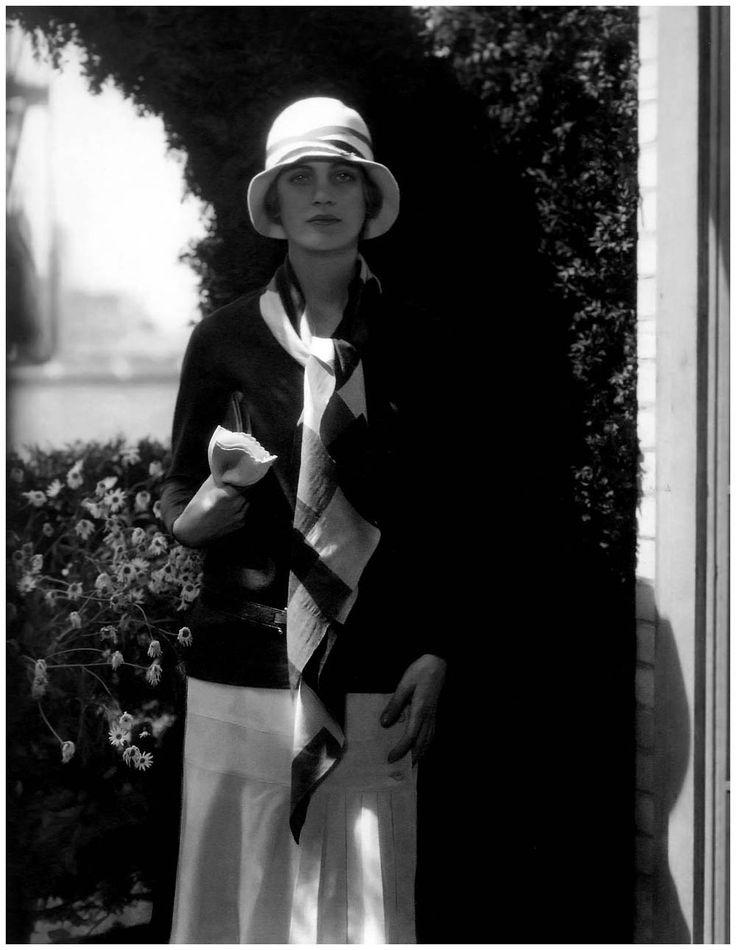 Edward Steichen: Lee Miller in Chanel, 1928