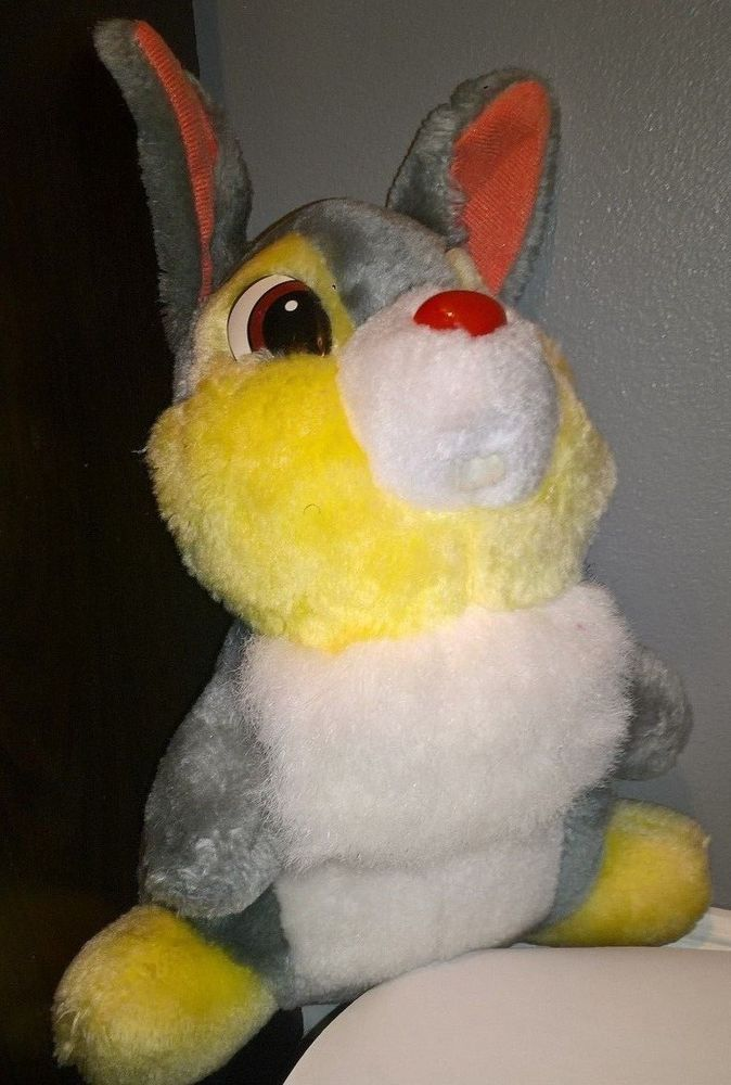 For that Stuffed thumper vintage