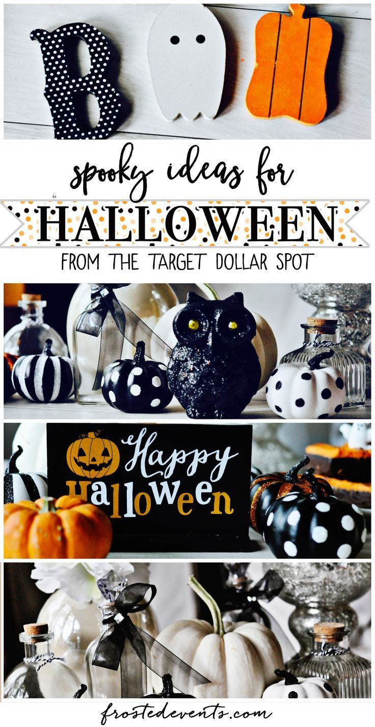 Find some scary good deals on Halloween decorations @target . I'll show you ways to create a spooky tablescape without spending a frightening amount. via @frostedevents #Halloween
