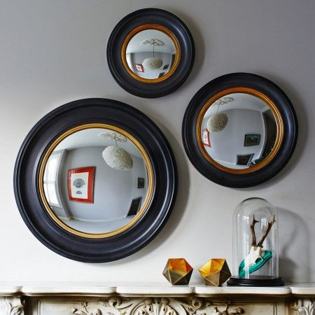 Porthole Mirrors - already have a few mirrors like this picked up from antiques fairs but you can never have too many...