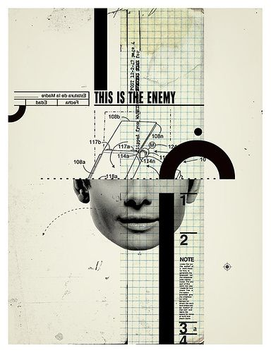 Pemorama - This is the enemy #collage nomenclatura soportes foto y editorial códigos modificable partes monta le nodos son las áreas junto curvas de b.