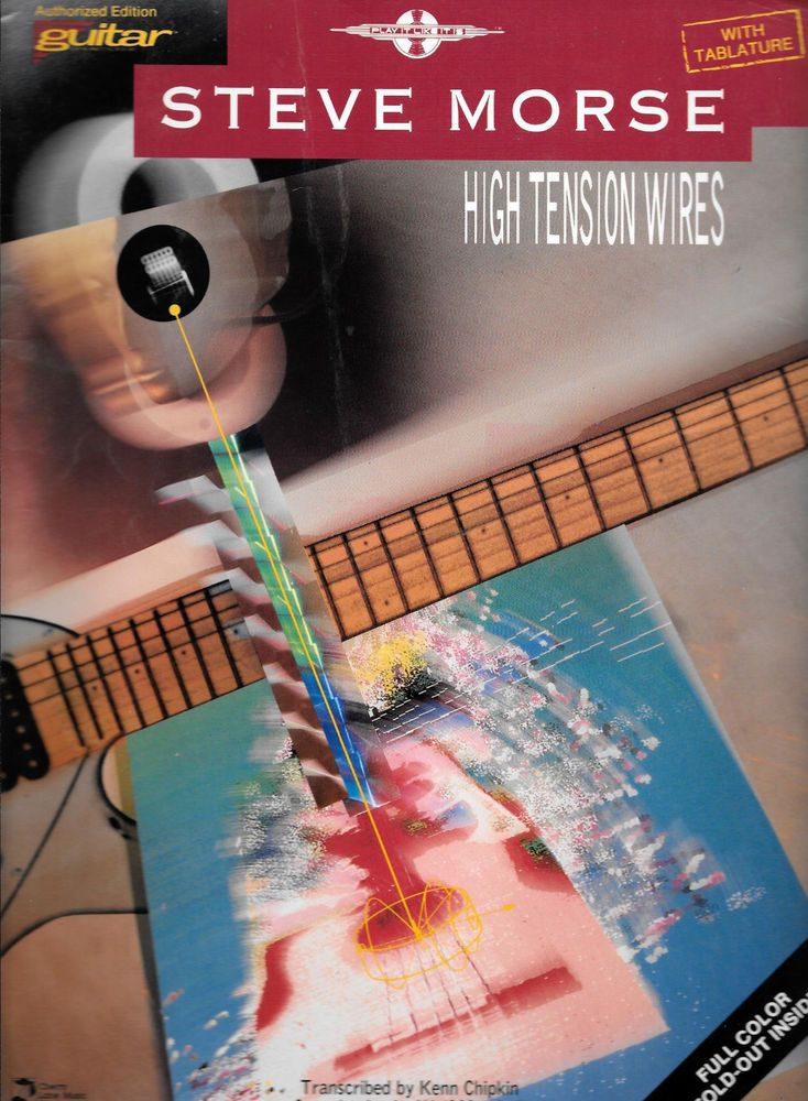 Astounding Steve Morse High Tension Wires Guitar Tab Vg Condition Oop Wiring Digital Resources Indicompassionincorg