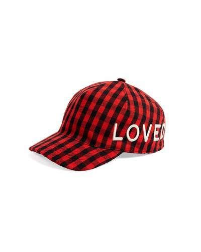 Gucci Loved Check Flannel Baseball Hat  Gucci  caps  hats  ShopStyle   MyShopStyle 259b87d7ccd