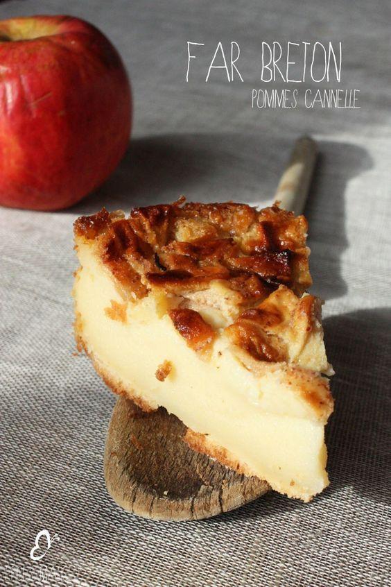 Far pommes-cannelle
