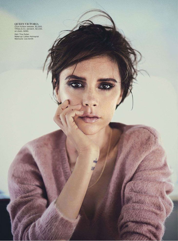"Victoria Beckham ""Victoria's Secrets"" for Vogue Australia 