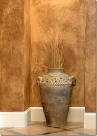 faux painted walls