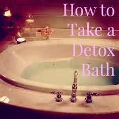 My little and I were feeling a little under the weather last night (he had a runny nose, my throat was sore), I thought it was a great opportunity to take a DETOX BATH! Yes, even my 3 year old takes detox baths and let me tell you they are Ahhhhmazing! A detox bath is …