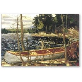 The Canoe 1912 by Tom Thomson (The Group of Seven)