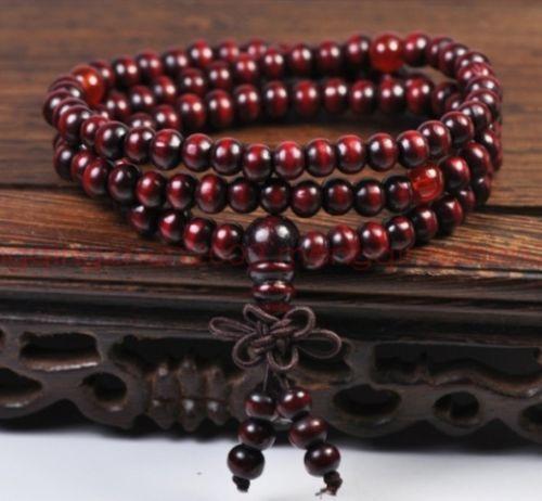 Sandalwood-Buddhist-Buddha-Meditation-6mm-108-Prayer-Bead-Mala-Bracelet-Necklace