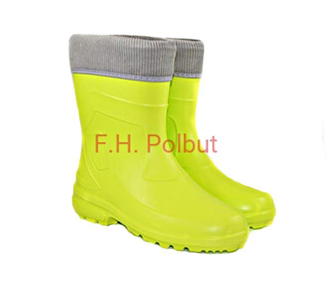 #Yellow #wellies for #women's with hot #cotton inside, great for #cold #weather and #rainy days. Available in other #colors on ebay !